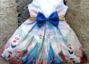 Vestidos de fiesta frozen para niñas