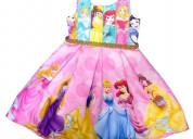 Vestidos de fiesta princesas disney para niñas