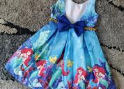Vestidos de fiesta sirenita ariel para niñas