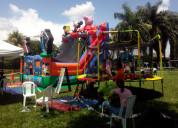 Alquiler de inflables en tulua buga  tel 318 479 4048