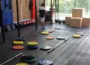 Piso para gimnasio - fitness - crossfit