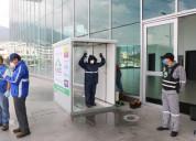 Fabricacion de cabinas de desinfeccion