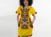 Vestido africano en barranquilla