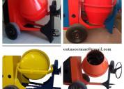 Mezcladoras de concreto