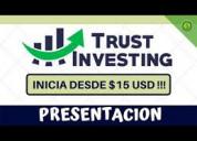 Inversiones de confianza