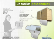 Dispensador de toallas de papel
