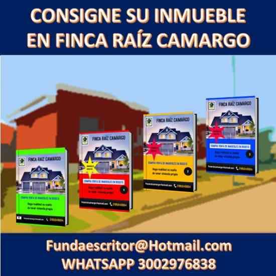 RECIBIMOS PREDIOS EN CONSIGNACIÓN FINCA RAÍZ