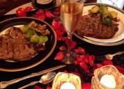 Cenas romanticas decoradas