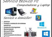 Reparación y mantenimiento general de computadores