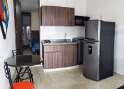 alquiler apartaestudio amoblado en cali 1 piso