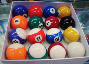 Bolas pool billar standar profesionales nuevas