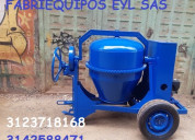 Mezcladoras para concreto diesel