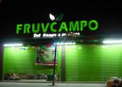 Letreros para supermercados y fruvers