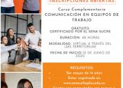 Curso gratuito-comunicaciÓn en equipos de trabajo