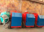 Trompos o mezcladoras de concreto
