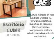Escritorios y mesas cubik