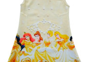 Vestido princesas para niñas