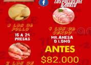 Promoción pollo+pescado+carne 30% descuento