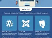 Combo curso de desarrollo web con wordpress -