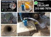 Perforación de pozos profundos pozos agua