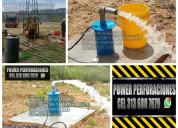 Mantenimiento de pozos profundos pozos agua