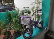 Vendo bicicleta de niÑa en oferta poco uso