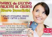 Cambio de cupo de tarjetas de crÉdito por efectivo
