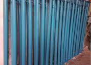 Paral metalico 1.50 -2.00 - 3.00 metros