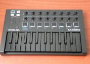 Arturia minilab mk2 deepblack controlador midi