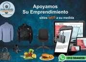 Creacion pagina web para su emprendimiento