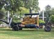 Motobomba caterpillar diesel 8 pulgadas por 6 pulgadas