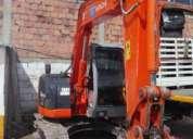 Alquiler de retroexcavadoras con balde y martillo hidraulico