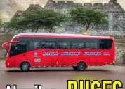 Alquiler buses para paseos viajes y excursiones