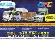 Fabrica reparacion y mantenimiento de furgones y carrocerias