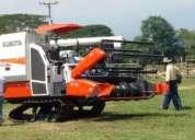 Agricola tractor kubota y cosechadoras