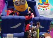 Inflables blue kids minion inflables