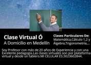 Clases refuerzos virtuales medellin