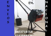 Pluma o brazo para 300 kg con motor electrico