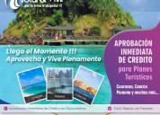 Planes turísticos con aprobación inmediata