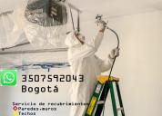 Pintura aplicacion rapida  bogota tel 3507592043