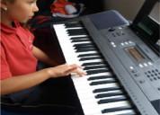 clases de piano y guitarra virtuales y a domicilio