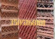 cerchas estructuras para obras