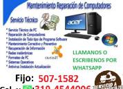 ReparaciÓn computador castilla medellin tl:5071582