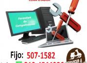 Formateo computadores medellin poblado tel:5071582