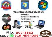 ReparaciÓn computadores tricentenario  tel:5071582