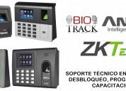 Soporte tecnico controles biometricos