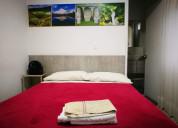 Se alquilan habitaciones tipo hotel con baÑo priva