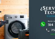 Reparación o mantenimiento neveras y lavadoras