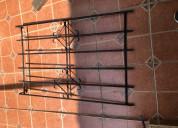 Vendo rejas de hierro para ventanas