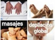 Masajes relajantes terapéuticos descontracturante